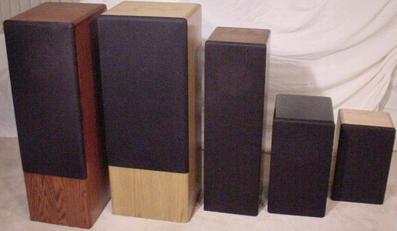 Some Of Our Cabinet Designs For The Audio Nirvana 15 12 10 8 6 5 5 4 And 3 Inch Full Range Speakers